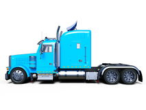 Trailer. 3D CG rendering of a trailer royalty free illustration