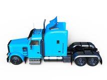 Trailer. 3D CG rendering of a trailer stock illustration