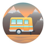 Trailer Detailed Illustration Stock Photos
