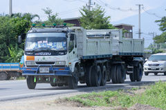 Free Trailer Dump Truck. Stock Image - 48763461