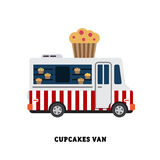 Trailer fast food vector illustration isolated Stock Photos