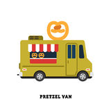 Trailer fast food vector illustration isolated Royalty Free Stock Image