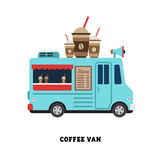 Trailer fast food vector illustration isolated Stock Images