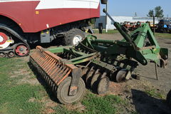 Trailer Hitch for tractors and combines. Trailers for agricultural machinery Stock Image