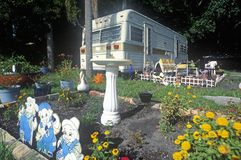 A trailer home near Fort Myers, Florida Stock Photography