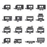 Trailer icon Stock Images