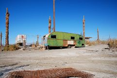 Trailer, Salton Sea Stock Image