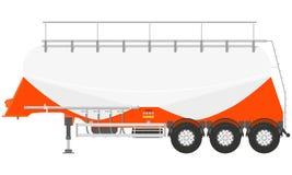 Trailer tanker Stock Images