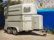 Trailer to transport horses Stock Photography