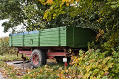 Trailer of a tractor Stock Images