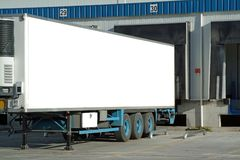 Trailer of truck Stock Photography