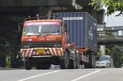 Trailer truck Stock Photos