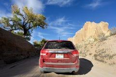 Trailhead de Hackberry, Arizona Photo libre de droits