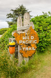 Trailhead Sign Royalty Free Stock Image