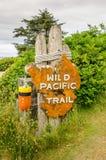 Trailhead-Zeichen Lizenzfreies Stockbild