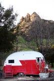 Trailor на ранчо Стоковая Фотография RF
