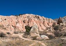 Trails in Cappadocia Stock Image