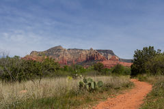 Trails in Sedona Royalty Free Stock Images