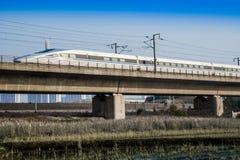 Train à grande vitesse Photographie stock