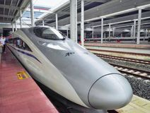 Train à grande vitesse chinois Image stock