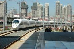 Train à grande vitesse de la Chine Photos libres de droits
