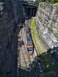 Train à Sydney photographie stock libre de droits