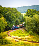 Train à voie étroite de vapeur Photo libre de droits