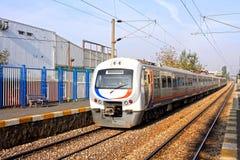 Train électrique photographie stock libre de droits