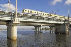 train électrique Images libres de droits