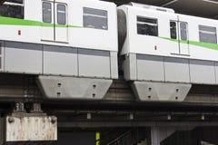 Train élevé Image stock