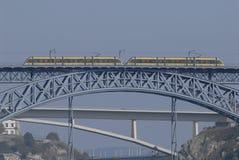 Train. In Porto city - Portugal - Europe Stock Photo