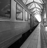Train. Stoped in the station Royalty Free Stock Photography