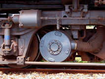 Train. The wheels of a train Stock Photography