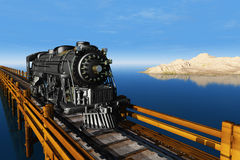 The train Stock Images