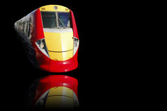 Train. A very great train on black background Royalty Free Stock Photo