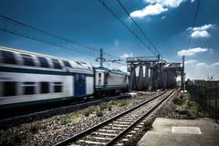 Train Image libre de droits