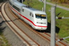 Train. Fast train royalty free stock images