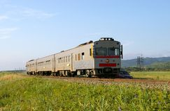 The Train. Royalty Free Stock Photography