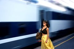 Train Images libres de droits