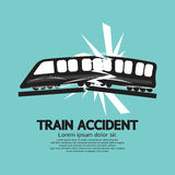 Train Accident stock illustration