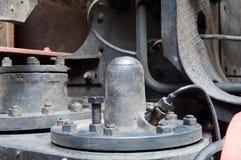 Train air pump Stock Photos