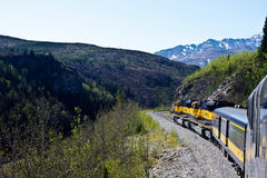 Train through Alaska Stock Photos