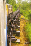 The train along the River Kwai Noi Stock Image