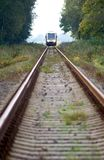 Train approaching royalty free stock image
