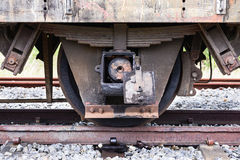 Train axles Stock Images