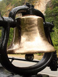 Train Bell In The Rain Royalty Free Stock Photos
