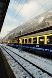 Train Berner Overland Bahn  Royalty Free Stock Images