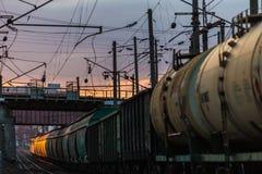 Train biélorusse Photos stock