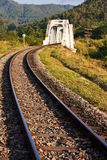 Train birdge in northern Thailand Stock Photography
