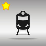 Train black Icon button logo symbol concept Royalty Free Stock Images
